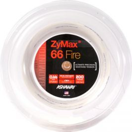 Bedmintonový výplet Ashaway ZyMax 66 Fire Power White - ROLE 200 m