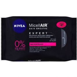 NIVEA MicellAIR Expert Remover Wipes 20 ks
