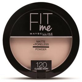 MAYBELLINE NEW YORK Fit Me Matte+Poreless 120 Classic Ivory 14 g