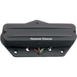 Seymour Duncan SSTHR 1B BLK Hot Rails Rhythm for Tele, Bridge